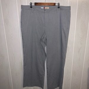Gap grey straight leg trousers
